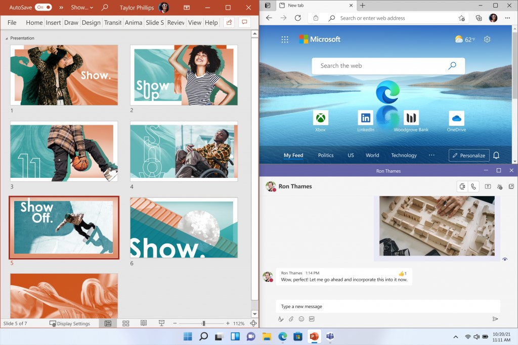 snap layouts in windows 11