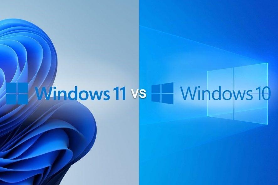 windows 11 and windows 10 comparison