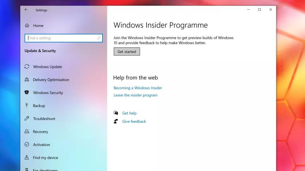 access windows insider program