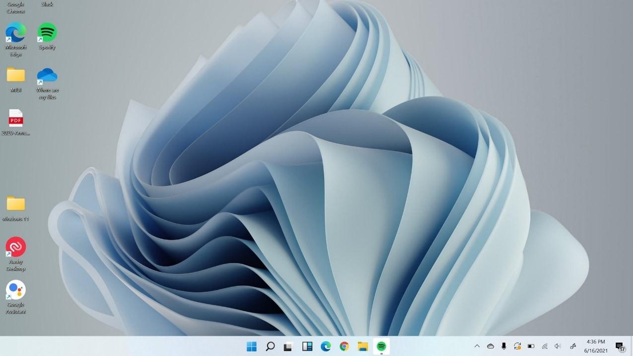 windows 11 impressive interface