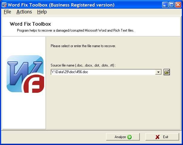 word file fix