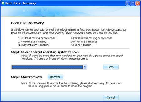 reparar a imagem do bootmgr Ccorrompida com um cd usb boot