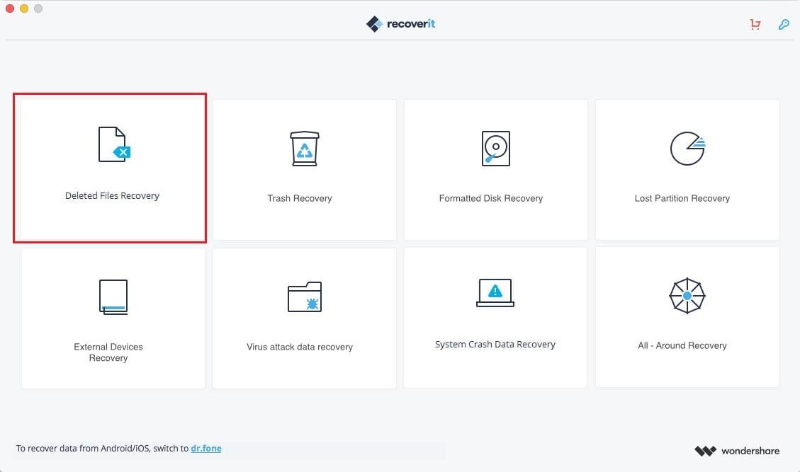 Recuperar arquivos iwork excluídos