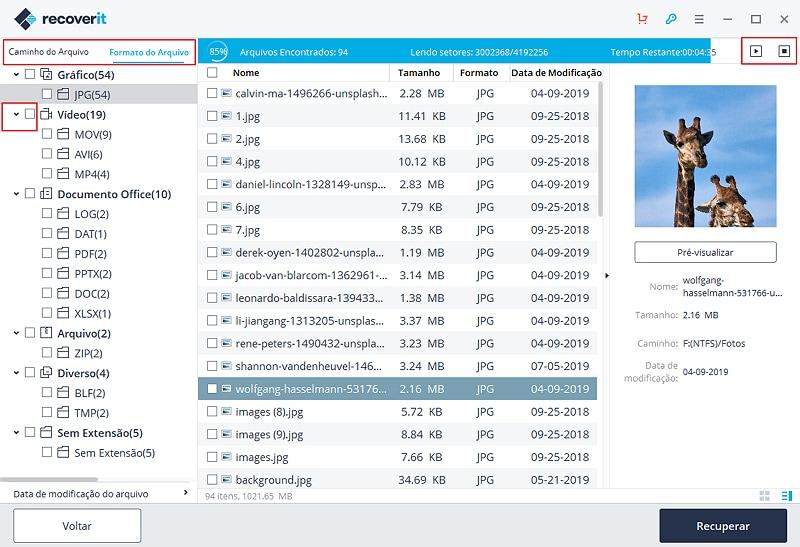 como recuperar arquivos de hd formatado varias vezes