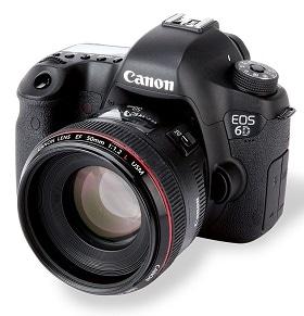 récupérer des photos supprimées de Canon eos 6d