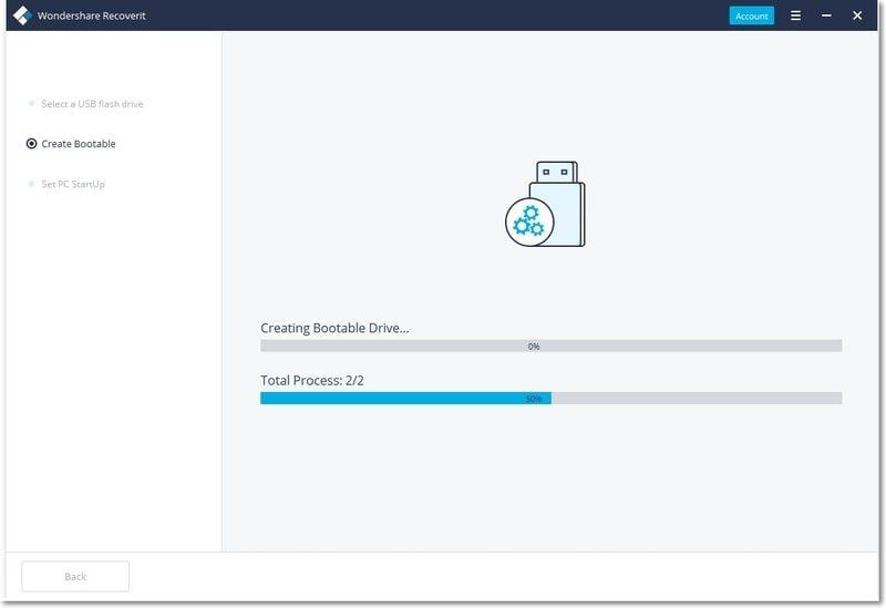 create bootable drive
