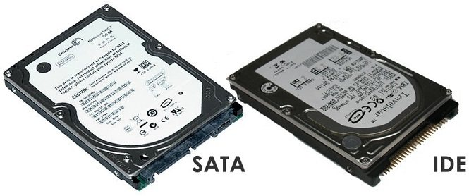 Sata Hard Drive and IDE Hard Drive