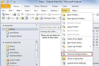 Wie Sie gelöschte E-Mails wiederherstellen