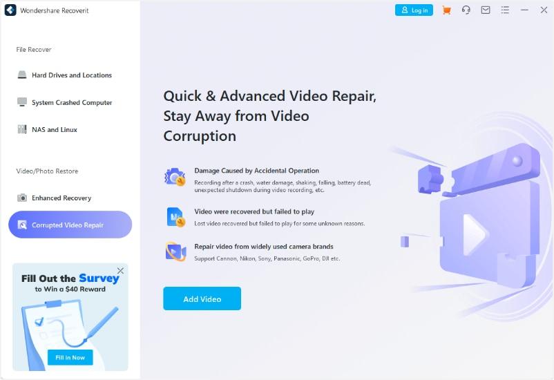 select video repair