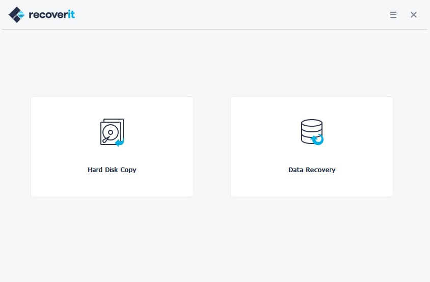 click on recover button to recover data