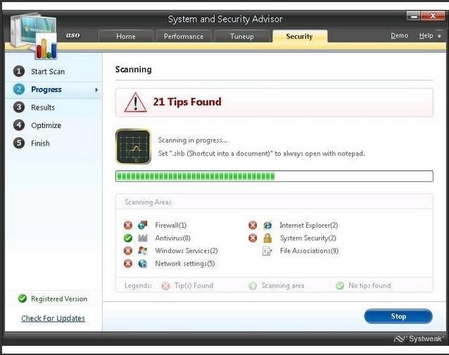 Advanced System Optimizer zum Entfernen unerwünschter Dateien unter Windows