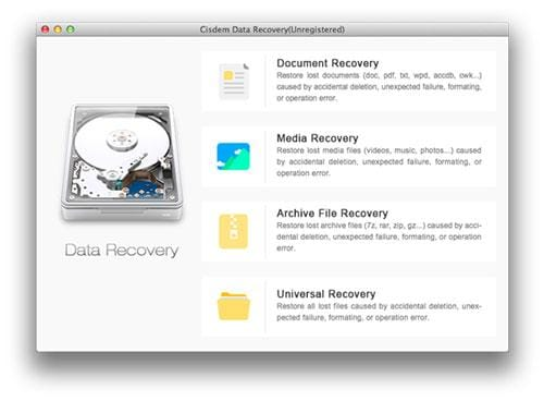 Cisdem data recovery für mac