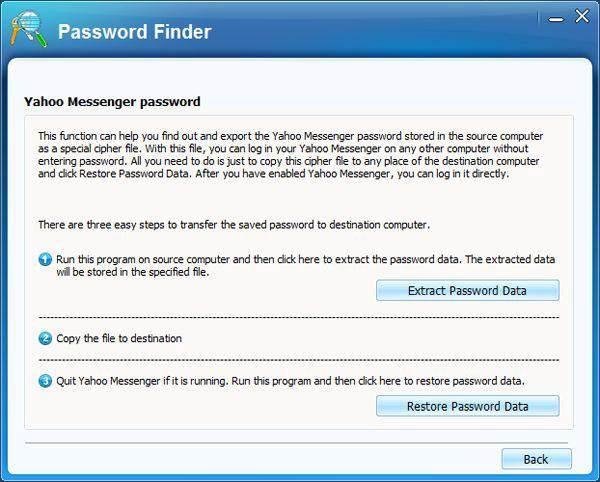 Yahoo-Messenger-Passwortfinder
