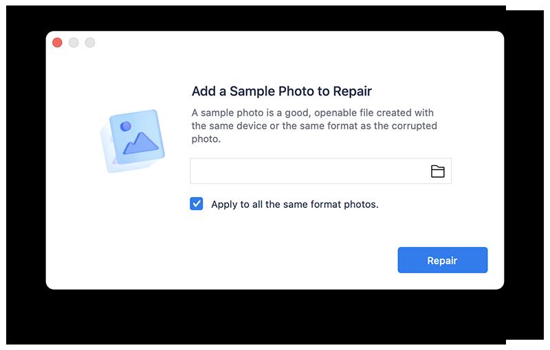 add a photo sample