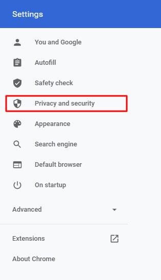 localizar privacidade e segurança