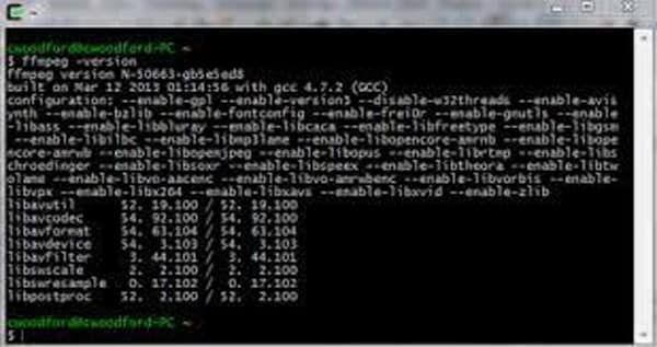 fix by ffmpeg