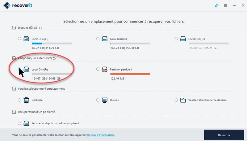 Comment récupérer les fichiers et données d'un disque dur externe