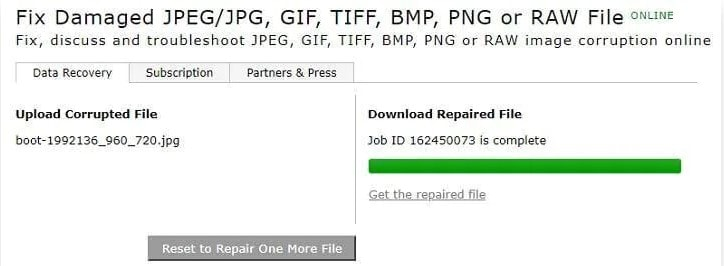 download repaired file