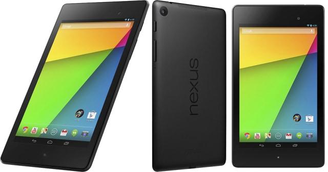 récupération de données de google Nexus 7