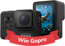 participate to win gopro