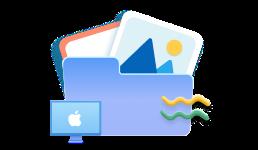 stocker des photos sur mac