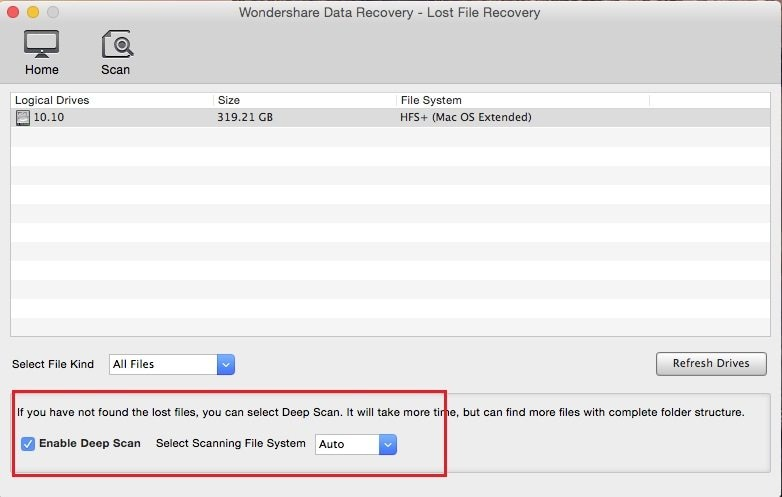 flash drive danneggiato su mac