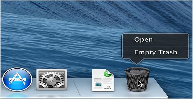 comment annuler la corbeille vide sur mac pour enregistrer vos données