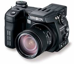 recover photos from Minolta Camera