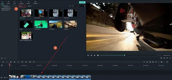 filmora video resolution