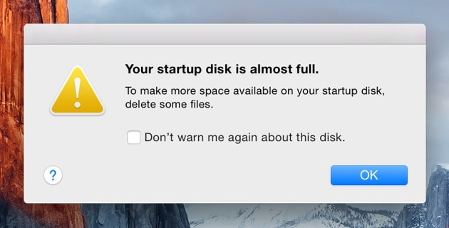 startup-disk-full