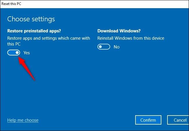 Reiniciar Windows 10 Reinstalar Windows