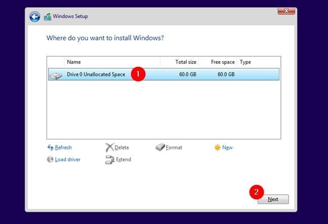 Localiza el origen de la instalación de Windows