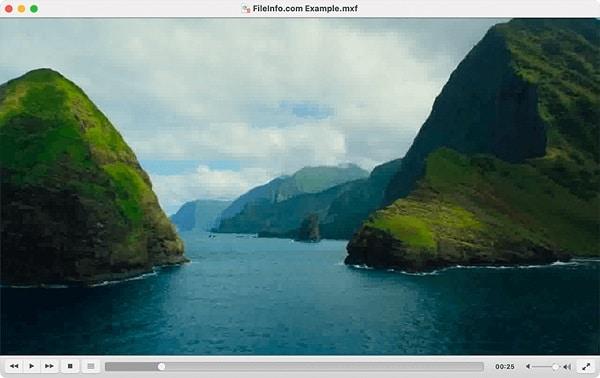 VLC Player MXF Videos on Mac