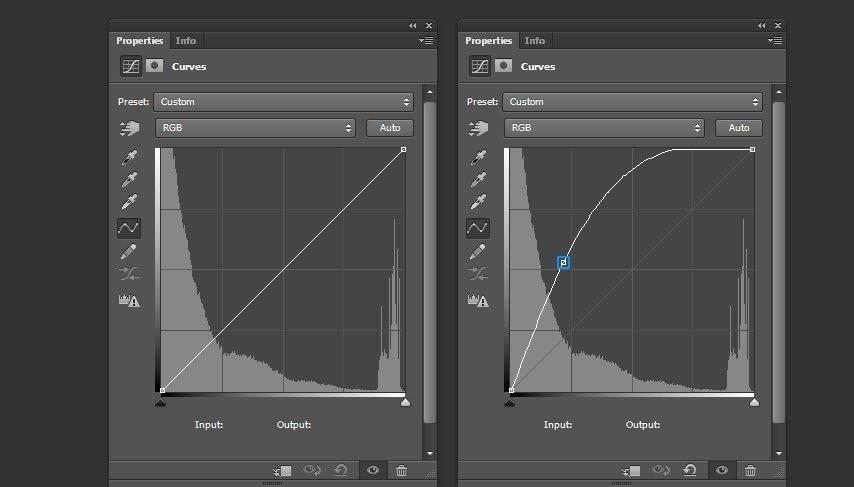 utilize curve tool