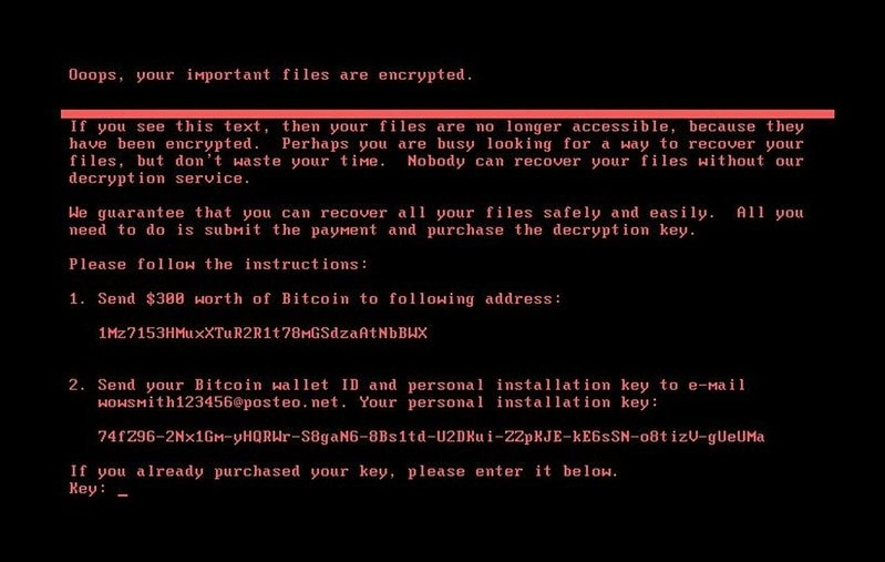 encryption process of virus