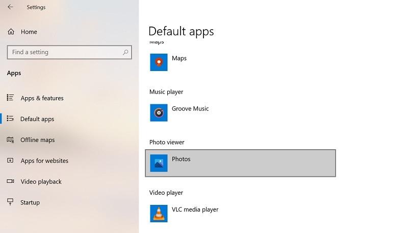 change default app