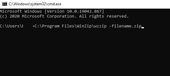 Repair a Zip File