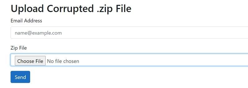 Online Zip Repair Load File