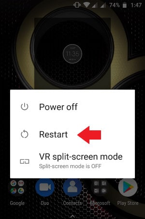 how to fix unfortunately camera has stopped by restarting camera or device
