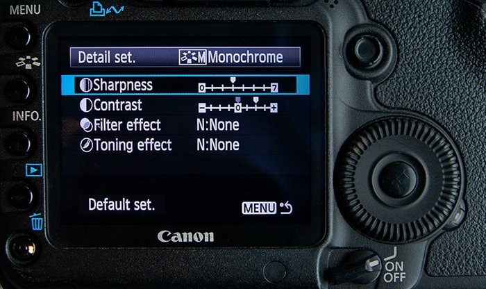 fix through monochrome mode