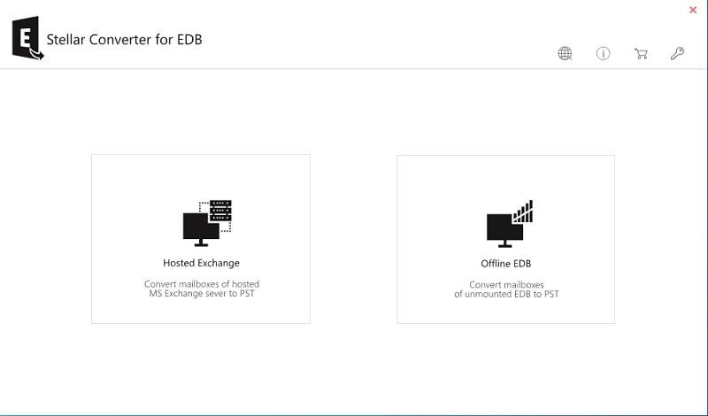 Stellar EDB Converter Open File