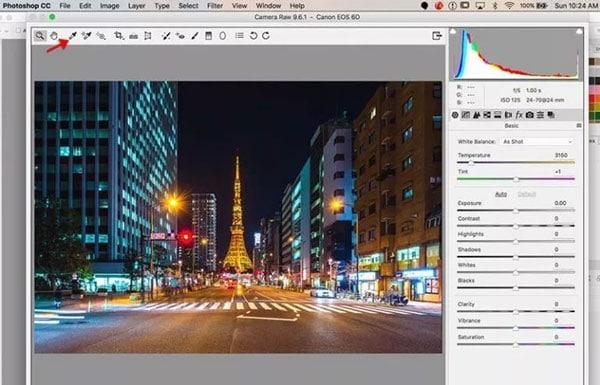 eyedropper tool for editing
