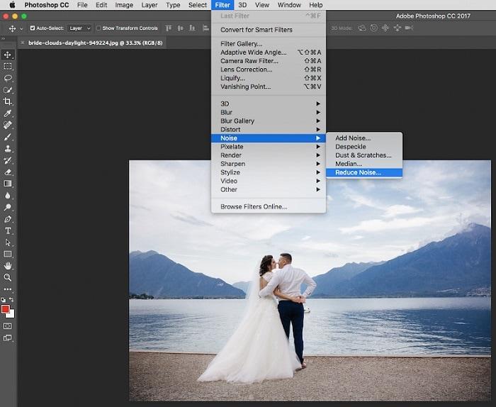 Photoshop Reduce Noise