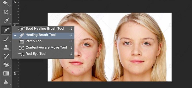 Photoshop Healing Brush