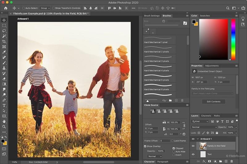 Adobe Photoshop Image Editor
