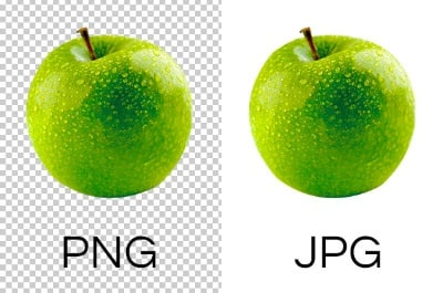 PNG and JPEG Format Usage