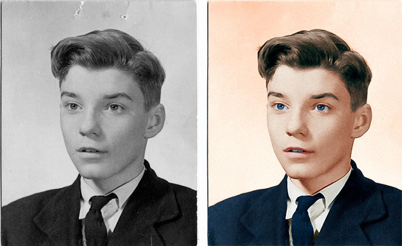 Restore Old Photos in Photoshop