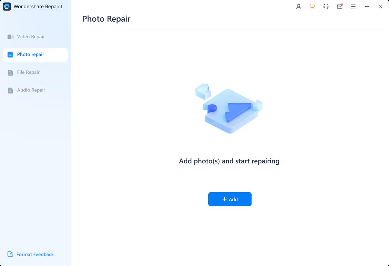 add damaged images