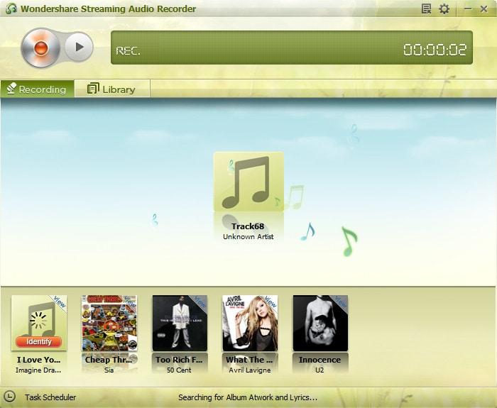 Streaming Audio Recorder - Wondershare