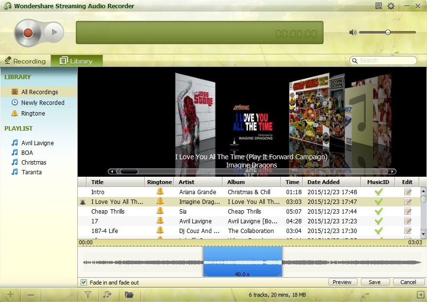 deezer mp3 downloader - streaming audio recorder